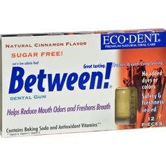 HGR0898072 - Eco-DentBetween Dental Gum - Cinnamon - Case of 12 - 12 Pack