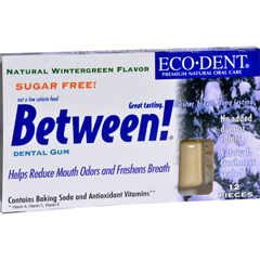 HGR0898098 - Eco-DentBetween Dental Gum - Wintergreen - Case of 12 - 12 Pack