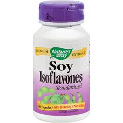 HGR0899997 - Nature's WaySoy Isoflavones Standardized - 60 Capsules