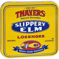 HGR0900522 - ThayersSlippery Elm Lozenges Original - 42 Lozenges - Case of 10