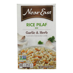 HGR0901132 - Near East - Rice Pilafs - Garlic and Herb - Case of 12 - 6.3 oz.
