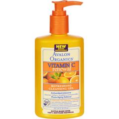 HGR0901512 - AvalonOrganics Refreshing Cleansing Gel Vitamin C - 8.5 fl oz