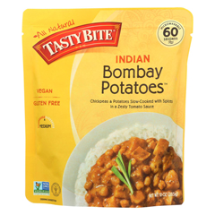 HGR0902247 - Tasty Bite - Entree - Indian Cuisine - Bombay Potatoes - 10 oz.. - case of 6