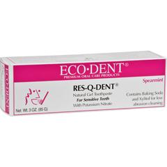 HGR0903385 - Eco-DentRes-Q-Dent Toothpaste - Spearmint - 3 oz
