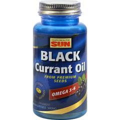 HGR0904003 - Health From The SunHealth From the Sun Black Currant 500 - 90 Softgels