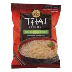 HGR0904490 - Thai Kitchen - Instant Rice Noodle Soup - Lemongrass and Chili - Medium - 1.6 oz.. - Case of 6