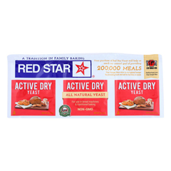 HGR0904607 - Red Star Nutritional Yeast - Active Dry - .75 oz.. - Case of 18