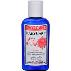 HGR0904771 - Eco-DentToothpowder Daily Care - Cinnamon - 2 oz