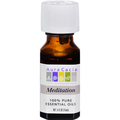 HGR0906362 - Aura CaciaEssential Oil Blend Meditation - 0.5 fl oz