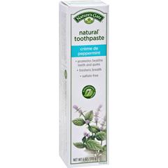 HGR0907006 - Nature's GateNatural Toothpaste Creme De Peppermint - 6 oz - Case of 6