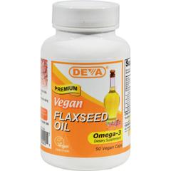HGR0911784 - Deva Vegan VitaminsFlaxseed Oil - 90 Vcaps