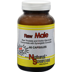 HGR0913855 - Natural SourcesRaw Male - 60 Capsules