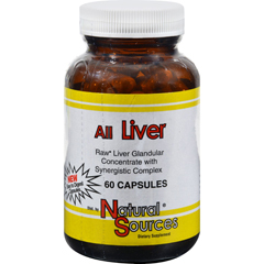 HGR0913863 - Natural SourcesAll Liver - 60 Capsules