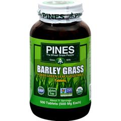 HGR0914283 - Pines InternationalBarley Grass - 500 mg - 500 Tablets