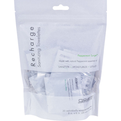 HGR0914697 - Giovanni Hair Care ProductsGiovanni Recharge Towelettes Peppermint Surge - 20 Towelettes