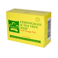 HGR0917294 - Nubian HeritageBar Soap Lemongrass And Tea Tree With Orange Peel - 5 oz