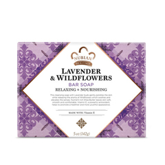 HGR0917427 - Nubian HeritageBar Soap Lavender And Wildflowers - 5 oz