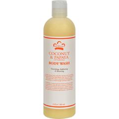 HGR0918169 - Nubian HeritageBody Wash Coconut And Papaya - 13 fl oz