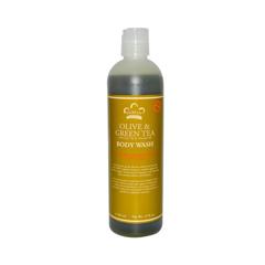 HGR0918300 - Nubian HeritageBody Wash Olive And Green Tea - 13 fl oz