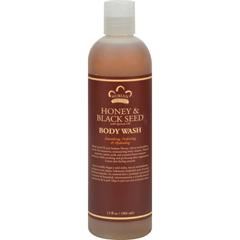 HGR0918326 - Nubian HeritageBody Wash Honey And Black Seed - 13 fl oz