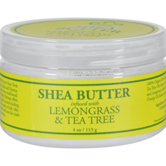 HGR0919191 - Nubian HeritageShea Butter Infused With Lemongrass And Tea Tree - 4 oz