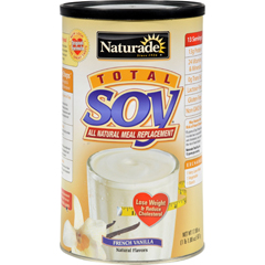 HGR0919860 - NaturadeTotal Soy Meal Replacement French Vanilla - 18 oz