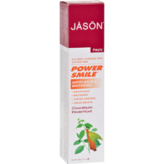 HGR0920454 - Jason Natural ProductsPowerSmile Toothpaste Cinnamon Mint - 6 oz