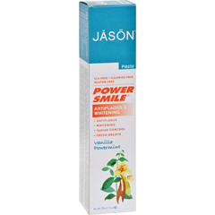 HGR0920470 - Jason Natural ProductsPowerSmile Toothpaste Vanilla Mint - 6 oz