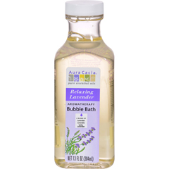 HGR0922302 - Aura CaciaAromatherapy Bubble Bath Relaxing Lavender - 13 fl oz