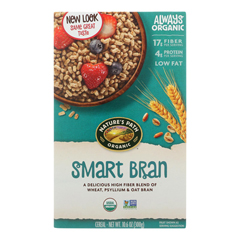 HGR0922385 - Nature's Path - Organic Smart-bran Cereal - Case of 12 - 10.6 oz..