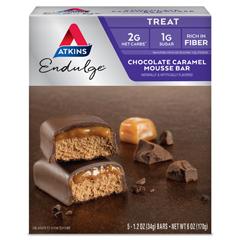 HGR0922716 - AtkinsEndulge Bar Chocolate Caramel Mousse - 5 Bars
