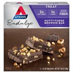 HGR0922781 - AtkinsEndulge Bar Nutty Fudge Brownie - 5 Bars