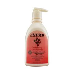 HGR0923128 - Jason Natural ProductsSatin Shower Body Wash Cranberry - 30 fl oz