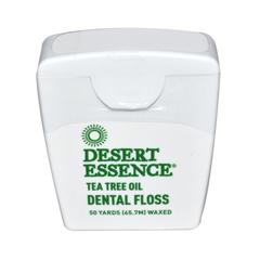 HGR0923151 - Desert Essence - Dental Floss Tea Tree Oil - 50 Yds - Case of 6