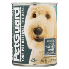 HGR0926824 - PetGuardDog Foods - Liver, Vegetable and Wheat Germ Dinner - Case of 12 - 13.2 oz.