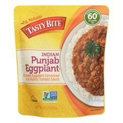 HGR0927178 - Tasty Bite - Entree - Indian Cuisine - Punjab Eggplant - 10 oz.. - case of 6