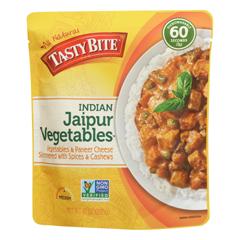 HGR0927186 - Tasty Bite - Entrees - Indian Cuisine - Jaipur Vegetables - 10 oz.. - case of 6