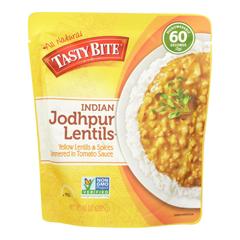 HGR0927244 - Tasty Bite - Entree - Indian Cuisine - Jodhpur Lentils - 10 oz.. - case of 6