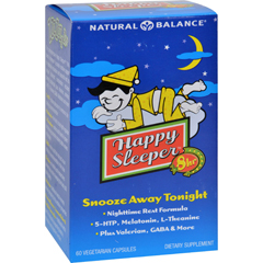 HGR0928317 - Natural BalanceHappy Sleeper - 60 Vegetarian Capsules