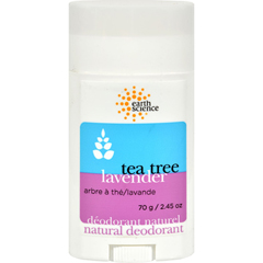 HGR0930149 - Earth ScienceNatural Tea Tree Deodorant Lavender - 2.5 oz