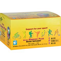 HGR0933093 - Prince of PeaceUltra Ginkgo Plus Endurance Formula - 30 Vials