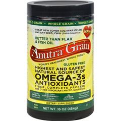 HGR0933614 - AnutraOmega 3 Antioxidants Fiber and Complete Protein Whole Grain - 16 oz