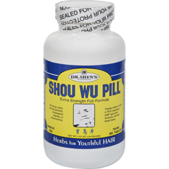 HGR0934851 - Dr. Shen'sShou Wu Youthful Hair Pill - 700 mg - 200 Tablets