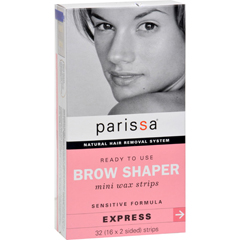 HGR0935056 - ParissaNatural Hair Removal System Brow Shaper - 32 Strips