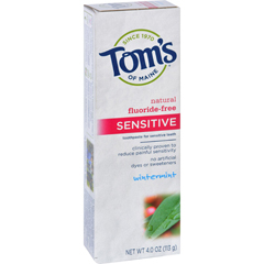 HGR0935718 - Tom's of MaineSensitive Toothpaste Wintermint - 4 oz - Case of 6