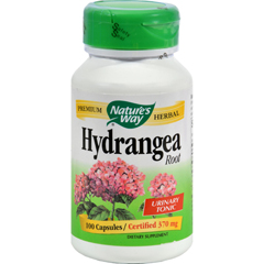 HGR0935866 - Nature's WayHydrangea Root - 415 mg - 100 Capsules