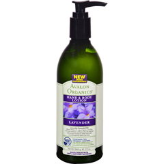 HGR0936575 - AvalonOrganics Hand and Body Lotion Lavender - 12 fl oz