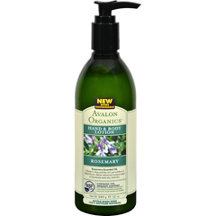 HGR0936674 - AvalonOrganics Hand and Body Lotion Rosemary - 12 fl oz