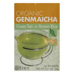 HGR0939041 - Eden Foods - Organic Genmaicha Green Tea - Case of 12 - 16 BAG