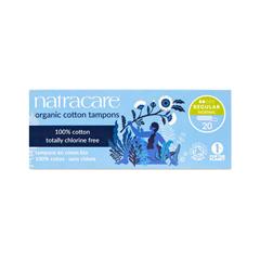 HGR0939249 - NatracareOrganic Cotton Tampons Regular - 20 Tampons